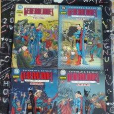 Cómics: NORMA - DC SUPERMAN & BATMAN GENERACIONES COMPLETA 4 TOMOS. BYRNE . MBE. Lote 275684423