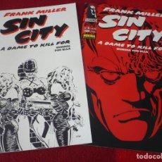 Cómics: SIN CITY MORIRIA POR ELLA NºS 5 Y 6 ( FRANK MILLER ) ¡BUEN ESTADO! NORMA. Lote 275686988