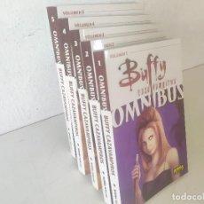 Comics: LOTE DE 5 LIBROS DE LA COLECCIÓN BUFFY CAZAVAMPIROS, OMNIBUS, NORMA, 1 AL 5 CORRELATIVOS. Lote 275725603