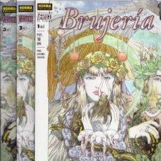 Comics: BRUJERIA COMPLETA 3 TOMOS - COL. VERTIGO Nº 88, 94 Y 98 - NORMA - IMPECABLE - SUB02M. Lote 276080083