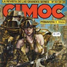 Cómics: CIMOC RETAPADO PRIMAVERA Nº 1 (CONTIENE LOS NUMEROS 33 A 35) NORMA - BUEN ESTADO - SUB02M. Lote 276085088