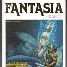 Comics: FANTASIA CIMOC Nº 4 (RETAPADO CON LOS NUMEROS 15, 16 Y 18) NORMA - BUEN ESTADO - SUB02M. Lote 276131033