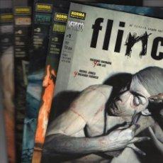 Cómics: FLINCH COMPLETA 5 TOMOS - COL. VERTIGO Nº 132, 140, 147, 158 Y 165 - NORMA - IMPECABLE - SUB02M. Lote 276133158