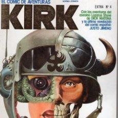 Comics: KIRK EXTRA Nº 4 RETAPADO CON LOS NUMEROS 12 A 14 - NORMA - BUEN ESTADO - SUB02M. Lote 276191743