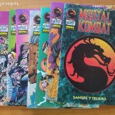 Cómics: MORTAL KOMBAT Nº 1 A 7 - NORMA EDITORIAL (FW). Lote 276275878