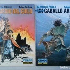 Cómics: ESTRELLA POLAR 1 Y 2 .EN MEDIO DEL CIELO Y UN CABALLO ARABE.CIMOC.NORMA EDITORIAL.. Lote 276377028