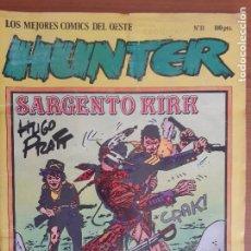 Cómics: HUNTER Nº 11. LOS MEJORES CÓMICS DEL OESTE. EDITA NORMA EDITORIAL 1981. Lote 276389793