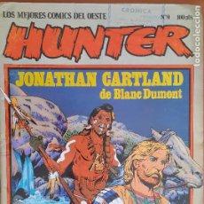 Cómics: HUNTER Nº 9. LOS MEJORES CÓMICS DEL OESTE. EDITA NORMA EDITORIAL 1981. Lote 276389838