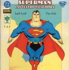 Cómics: SUPERMAN LAS CUATRO ESTACIONES Nº 1 - NORMA - ESTADO EXCELENTE - SUB02M. Lote 276436048