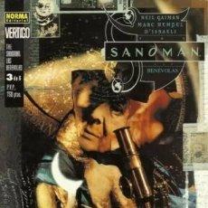 Cómics: THE SANDMAN LAS BENEVOLAS Nº 3 - COL. VERTIGO Nº 9 - NORMA - SUB02M. Lote 276438223