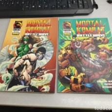 Fumetti: MORTAL KOMBAT BATTLEWAVE Nº 1 Y 2 (COMPLETO) / NORMA EDITORIAL. Lote 276455758