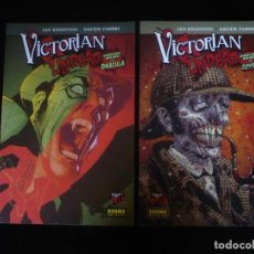 Cómics: VICTORIAN UNDEAD 1 + 2 - SHERLOCK HOLMES VS ZOMBIS MADE IN HELL 112 Y 118 - COMO NUEVOS. Lote 277083438