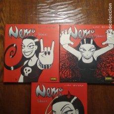 Cómics: NEMI - VOLÚMENES 1, 2 Y 3 (COMPLETA) - LYSE MYHRE - NORMA EDITORIAL 2008. Lote 277163948
