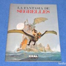 Fumetti: LA FANTASÍA DE SEGRELLES (NORMA EDITORIAL) EN MUY BUEN ESTADO. Lote 277246318
