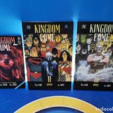 Cómics: COMICS KINGDOM COME - ED. NORMA Y VID - 3 TOMOS OBSERVA LAS FOTOS. Lote 277460823
