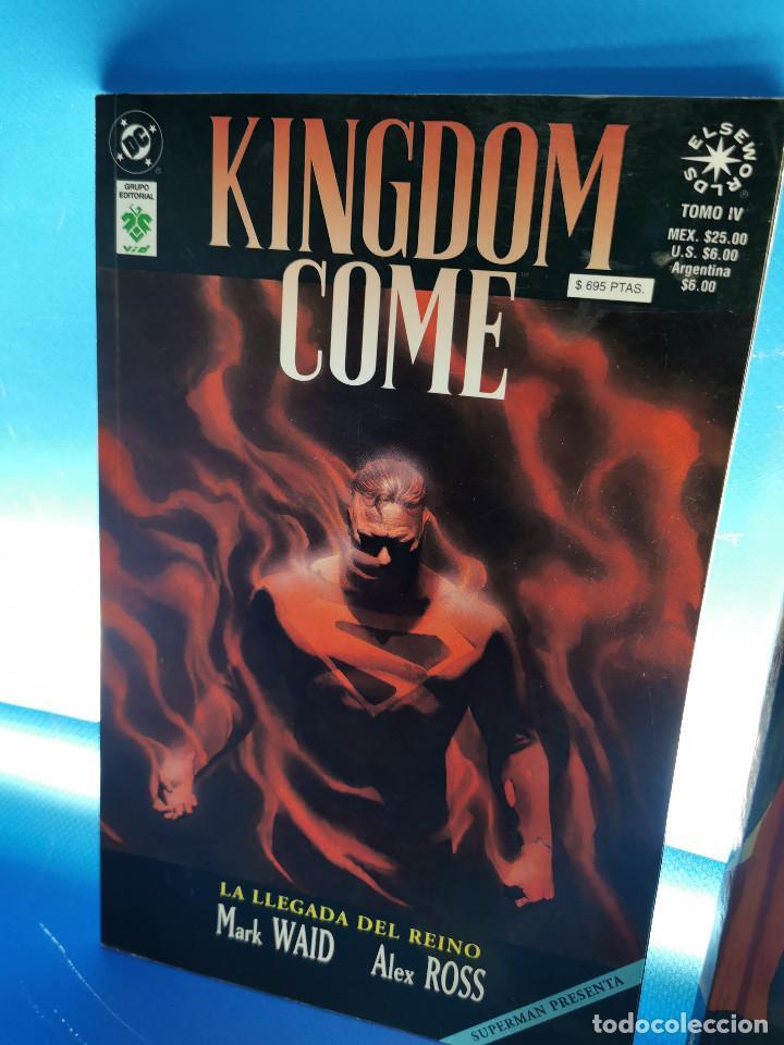 Cómics: comics KINGDOM COME - ED. NORMA y VID - 3 TOMOS observa las fotos - Foto 2 - 277460823