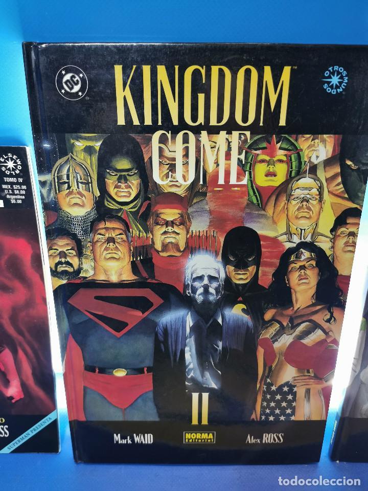 Cómics: comics KINGDOM COME - ED. NORMA y VID - 3 TOMOS observa las fotos - Foto 3 - 277460823
