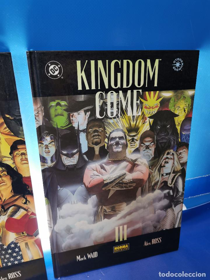 Cómics: comics KINGDOM COME - ED. NORMA y VID - 3 TOMOS observa las fotos - Foto 4 - 277460823