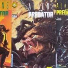 Cómics: ALIENS VS PREDATOR LOTE COLECCIÓN COMPLETA 5 NÚMEROS NORMA (PERFECTO ESTADO). Lote 277466933