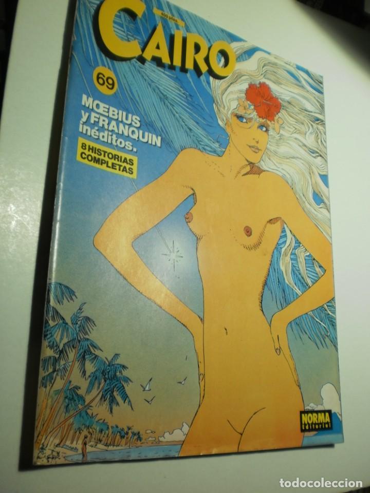 CAIRO Nº 69 (MOEBIUS I FRANQUIN INÉDITOS BUEN ESTADO) (Tebeos y Comics - Norma - Cairo)