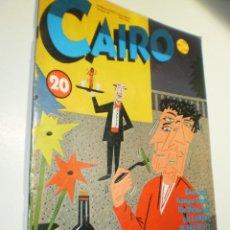 Cómics: CAIRO Nº 20 (BUEN ESTADO). Lote 277681788