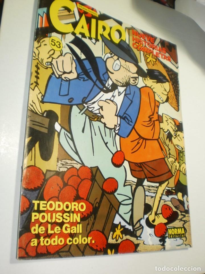 CAIRO Nº 53 (BUEN ESTADO) (Tebeos y Comics - Norma - Cairo)