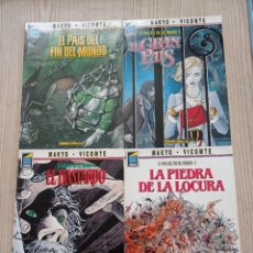 Cómics: EL PAIS DEL FIN DEL MUNDO - COMPLETA 4 TOMOS - 1990-1991 - NORMA. Lote 277736893