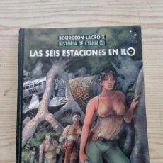 Cómics: HISTORIA DE CYANN - LAS SEIS ESTACIONES EN ILO - 1997 - NORMA. Lote 277740383
