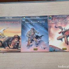 Cómics: JUAN BUSCAMARES - TOMOS 1-2-3 - 1997-2000-2002 - NORMA. Lote 277741058