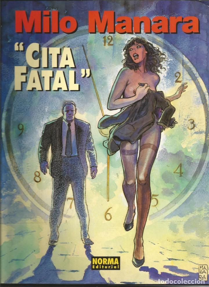 COLECCIÓN MILO MANARA Nº 8 - CITA FATAL - A COLOR - NORMA EDITORIAL (Tebeos y Comics - Norma - Otros)