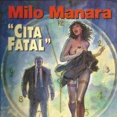 Cómics: COLECCIÓN MILO MANARA Nº 8 - CITA FATAL - A COLOR - NORMA EDITORIAL. Lote 277754508