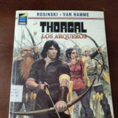Cómics: NORMA EDITORIAL, THORGAL, LOS ARQUEROS. Lote 278334728