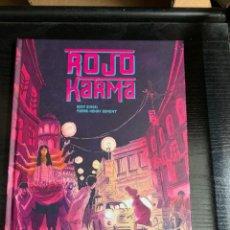 Cómics: ROJO KARMA, DE PIERRE-HENRY GOMONT Y EDDY SIMON. Lote 278514813