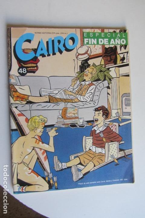 CAIRO Nº 48 - ED. NORMA ARX124 (Tebeos y Comics - Norma - Cairo)