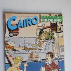 Cómics: CAIRO Nº 48 - ED. NORMA ARX124. Lote 278603973