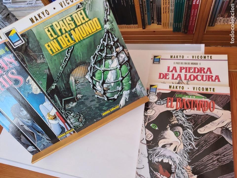 * EL PAÍS DEL FIN DEL MUNDO * NORMA EDITORIAL * SERIE COMPLETA DE 4 NÚMEROS * COLECCIÓN PANDORA * (Tebeos y Comics - Norma - Comic Europeo)
