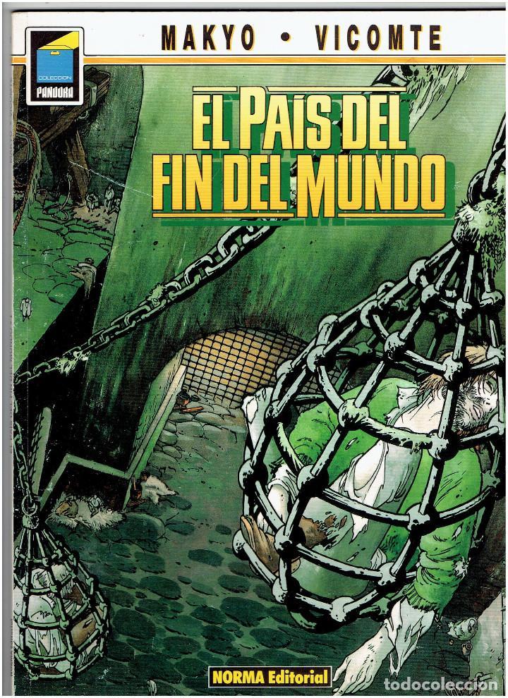 Cómics: * EL PAÍS DEL FIN DEL MUNDO * NORMA EDITORIAL * SERIE COMPLETA DE 4 NÚMEROS * COLECCIÓN PANDORA * - Foto 5 - 278624423