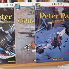 Cómics: * PETER PAN * NORMA EDITORIAL * SERIE COMPLETA DE 3 NÚMEROS * COLECCIÓN PANDORA *. Lote 278626798