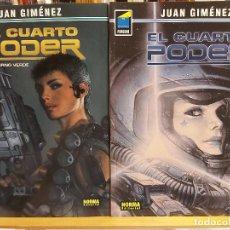 Comics: * EL CUARTO PODER * NORMA EDITORIAL * SERIE COMPLETA DE 4 NÚMEROS * COLECCIÓN PANDORA *. Lote 278838508