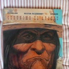 Cómics: MISTER BLUEBERRY - GERONIMO EL APACHE- N. 38. Lote 278921763