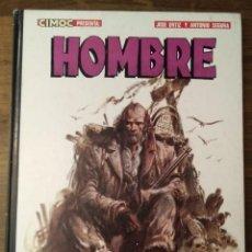 Cómics: CIMOC PRESENTA: HOMBRE. POR JOSE ORTIZ Y ANTONIO SEGURA. NORMA EDITORIAL. 1984.. Lote 278957568