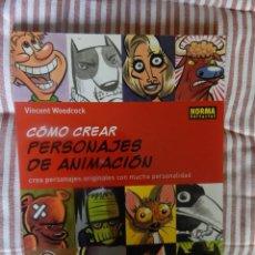 Cómics: COMO CREAR PERSONAJES DE ANIMACION. Lote 278977488