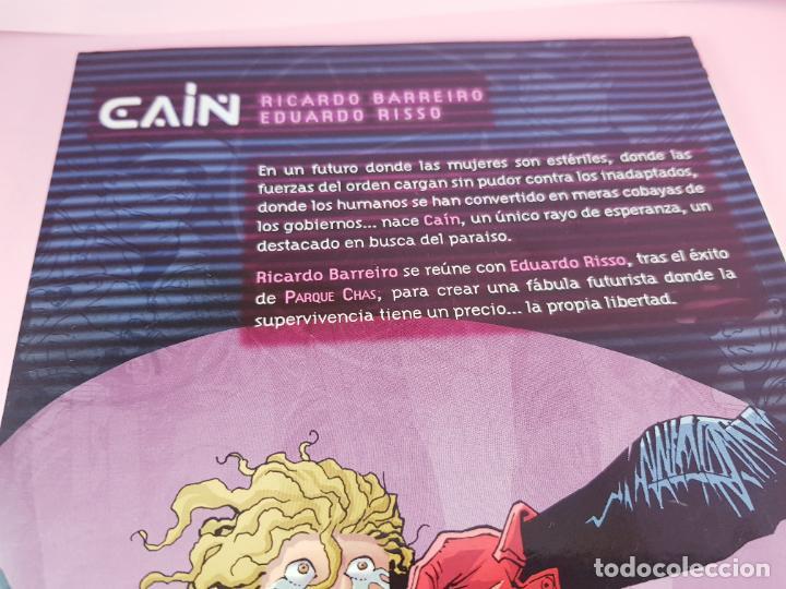 Cómics: COMIC-CAÍN-Nº1-BARREIRO Y RISSO-NORMA EDITORIAL-EL DÍA DESPUÉS-COLECCIONISTAS-2005-EXCELENTE - Foto 7 - 279328223
