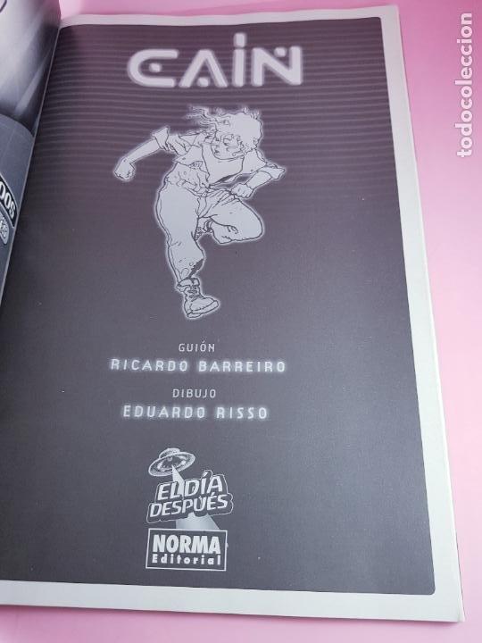 Cómics: COMIC-CAÍN-Nº1-BARREIRO Y RISSO-NORMA EDITORIAL-EL DÍA DESPUÉS-COLECCIONISTAS-2005-EXCELENTE - Foto 11 - 279328223