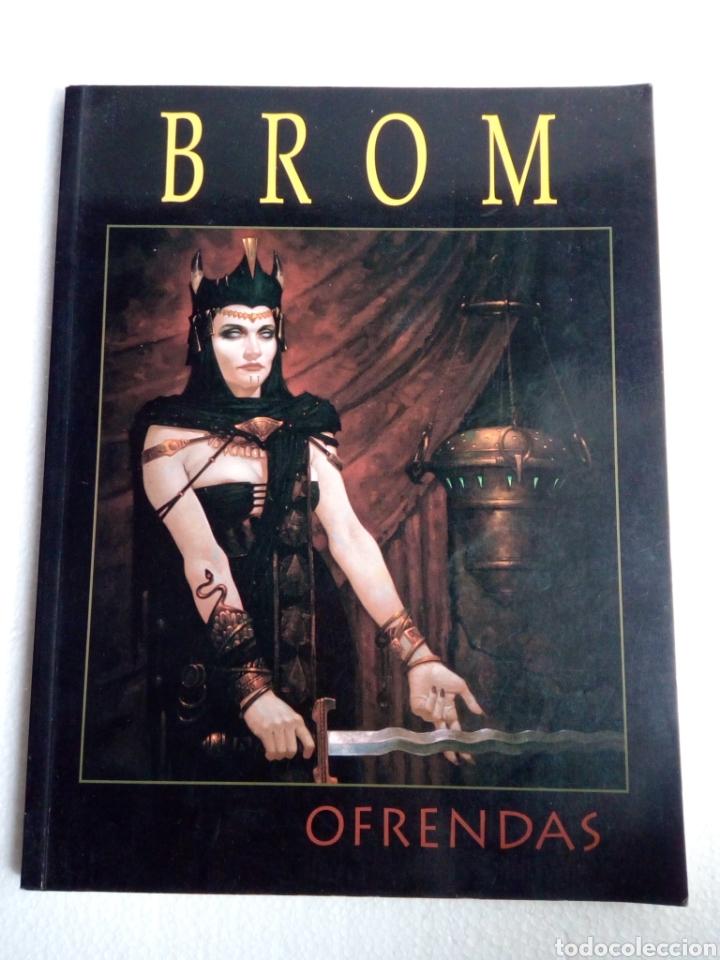 EL ARTE DE BROM - OFRENDAS - NORMA EDITORIAL (Tebeos y Comics - Norma - Otros)
