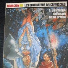 Cómics: BOURGEON--LOS COMPAÑEROS DEL CREPUSCULO--1. Lote 279426133