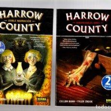 Cómics: HARROW COUNTY 1 2 3 4 5 6 7 8 COMPLETA - NORMA / DARK HORSE / RÚSTICA / CULLEN BUNN. Lote 270365003