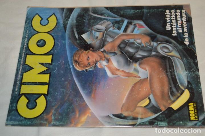 Cómics: CIMOC -- Lote de 12 Ejemplares / Revistas Comics - Años 80 / 90 - ¡Mira fotos y detalles! - Foto 2 - 281935498