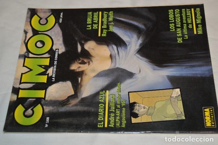 Cómics: CIMOC -- Lote de 12 Ejemplares / Revistas Comics - Años 80 / 90 - ¡Mira fotos y detalles! - Foto 10 - 281935498