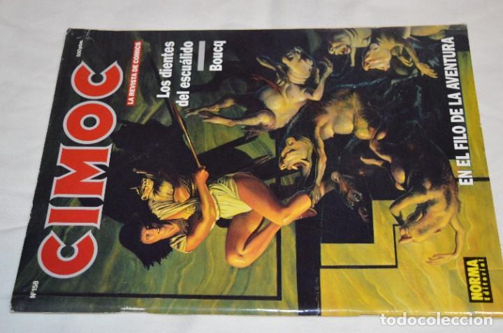 Cómics: CIMOC -- Lote de 12 Ejemplares / Revistas Comics - Años 80 / 90 - ¡Mira fotos y detalles! - Foto 12 - 281935498